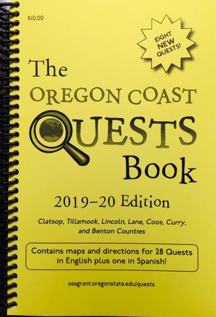 Oregon Coast Quests Book 2019-20 cover