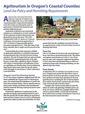 Agritourism Brochure