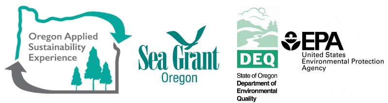 OASE, Oregon Sea Grant, Department of Environmental Quality, and Environmental Protection Agency Logos