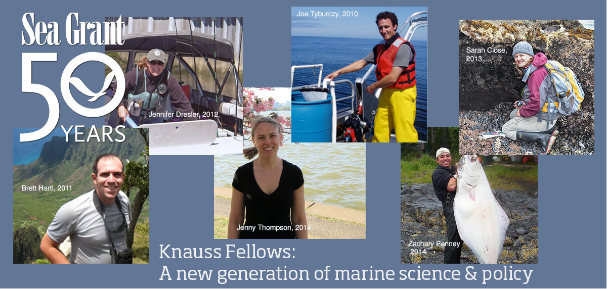 Oregon's Knauss Fellows work in marine science, policy