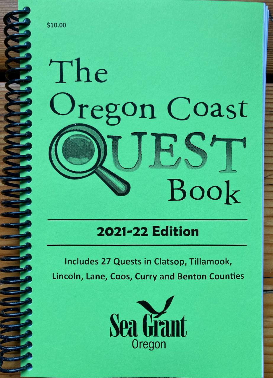 Oregon Coast Quest book cover 2021