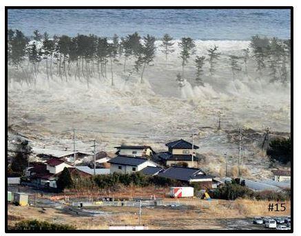 Tohoku tsunami wave 2011
