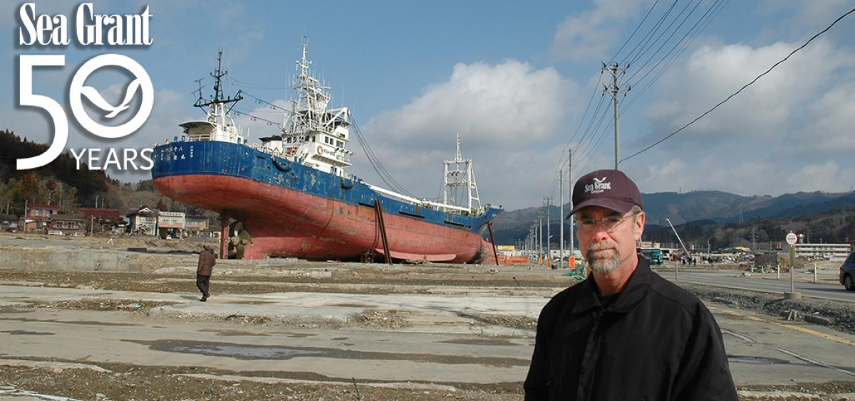 Pat Corcoran visited Japan one year after the Tohoku quake and tsunami