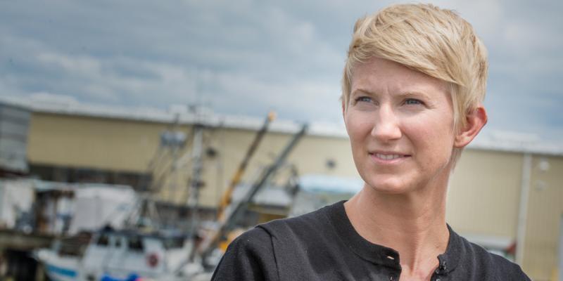 Amanda Gladics, Oregon Sea Grant Extension Agent