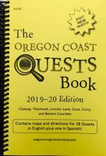 Oregon Coast Quests Book 2019-20 cover
