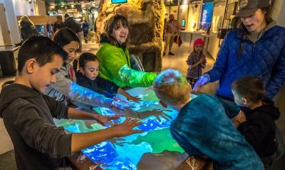Augmented Reality Sandbox at HMSC Visitor Center